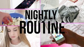 Fall Night Routine // Weekend Edition