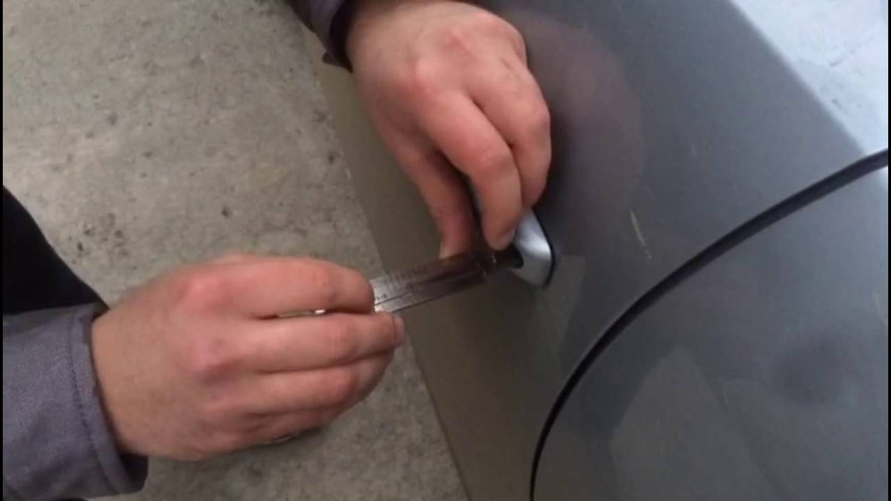 How To Open The Door Of Audi Q5  2013  Without Any Key In