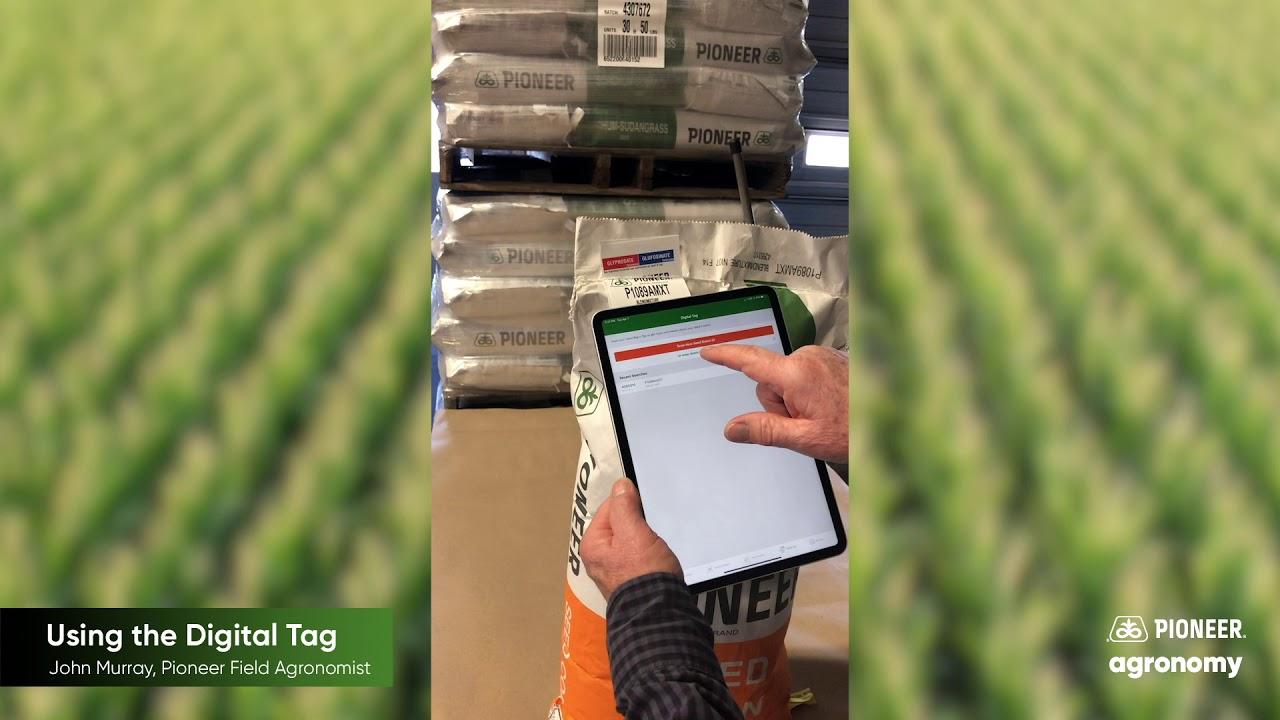 Pioneer Seeds App Digital Bag Tag Walkthrough