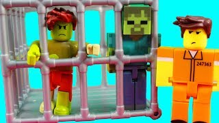 Roblox Toys And Imaginext Arkham Asylum + Minecraft And Batman Figures
