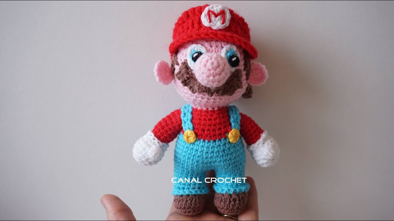 Amigurumi Free Patterns Beginners : Mario Bross amigurumi tutorial - YouTube