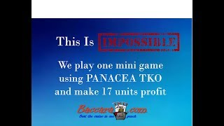 In this video we come up +17 units by applying Panacea TKO in a min...