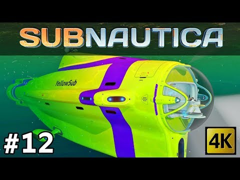 Subnautica #12 | Building the Cyclops & Upgrade Modules: Cyclops Shield Generator and Sonar [4k]
