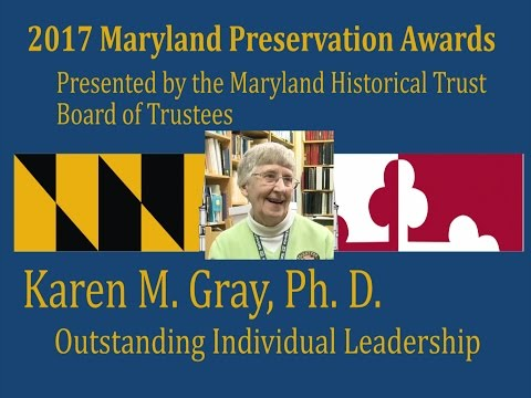 Karen Gray, Ph. D., 2017 Award for Outstanding Individual Leadership