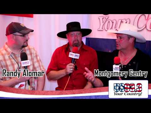 US93.3 at the ACM Awards: Interview with Montgomery Gentry