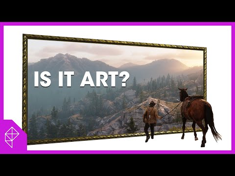 Why does Red Dead Redemption 2 look so much like these paintings?