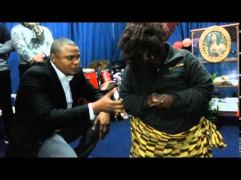 Pastor Michael Richard with CHRIST VICTORY LIFE CHURCH NAPOLY ITALY Part 4