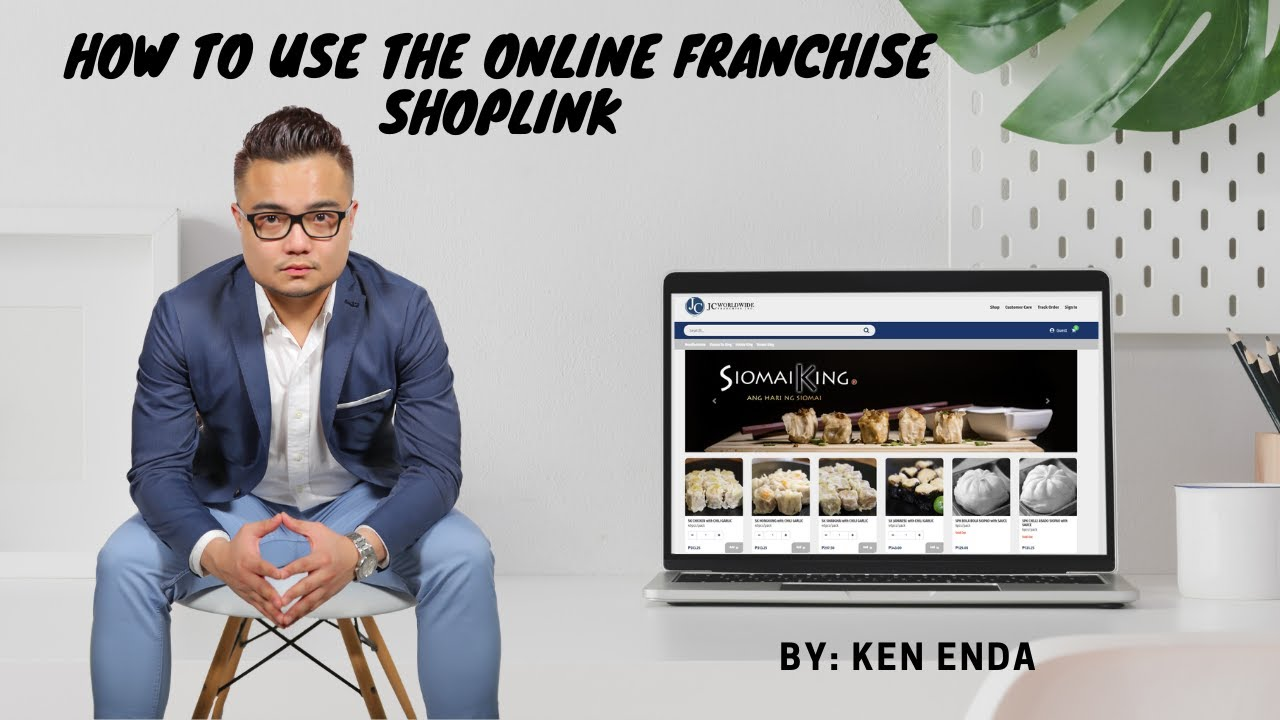 How to Get your ID number and Shoplink for Siomai King Online Franchise.