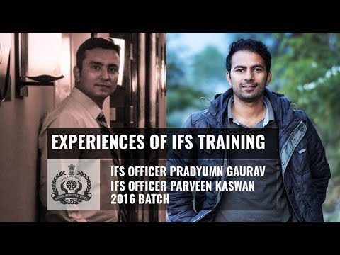 Experiences Of IFS Training By Parveen Kaswan and Pradyumn Gaurav