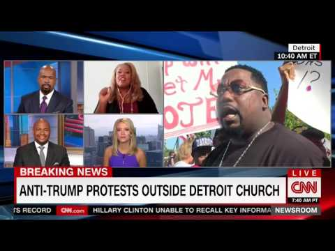 CNN's Tara Setmayer Destroys Trump Supporter over Trump's Black Outreach Efforts