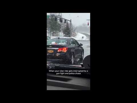 Syracuse police chase suspect after officer-involved shooting