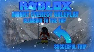 Roblox Mount Everest RP: Climbing to the TOP | Skowronek