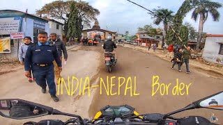 How i Cross INDIA-NEPAL Border with Loud Exhaust | Ep. 02