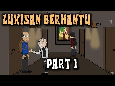 Misteri Lukisan Berhantu (Part 1) | Animasi Horor Kartun Lucu | Warganet Life