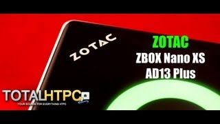 Zotac ZBOX nano XS AD13 Plus Review