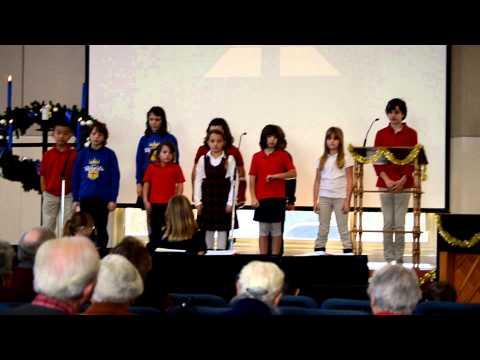 Prayer For Peace - St. Luke Lutheran School Choir 12/19/12