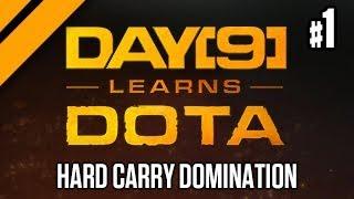 Day[9] Learns Dota - Hard Carry Domination - Spectre, Legion Commander, Phantom Lancer
