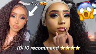 I Went To The BEST Reviewed Makeup Artist To Turn Me Into AN INSTA BADDIE *i was LIT af*