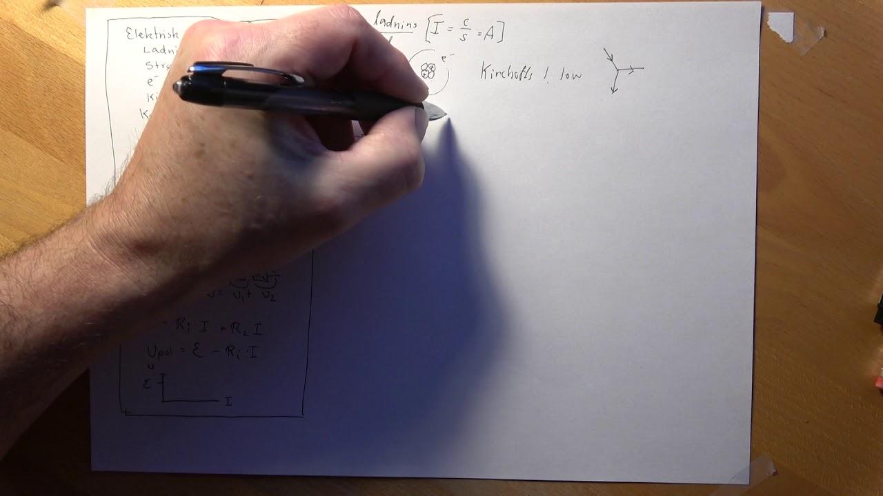 Eksamen Fysik B Ellære og batterier