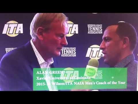 2016-12-11 coach Alan Green at the ITA convention