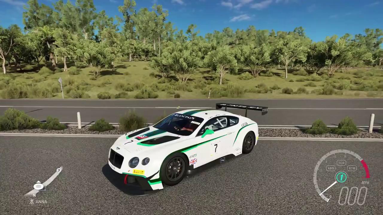 Forza Horizon 3 2014 Bentley #7 M Sport Bentley Continental GT3 Cruise