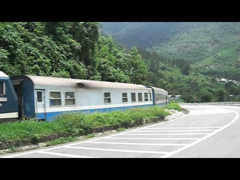 Vietnam Railways Lang Co side of Hai Van Pass
