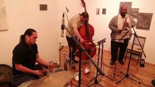 Wanderlust [Niggenkemper / Jones / Nakatani] - second set - at 109 Gallery, Brooklyn - Dec 12 2012