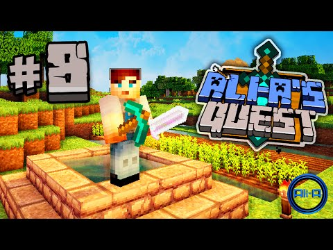 "Minecraft - Ali-A's Quest #8 - ""FARMER ALI-A!"""