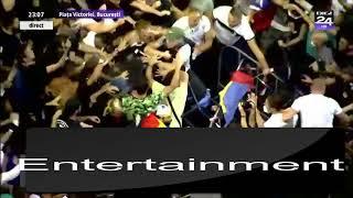 VIDEO. DOI JANDARMI, BĂTUȚI FARA MILA DE PROTESTATARI !!