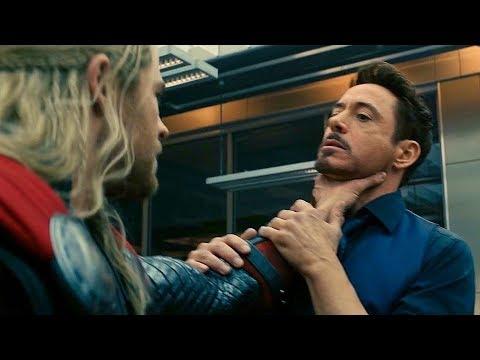 "Tony Stark ""We'll Lose"" Argument Scene - Avengers: Age of Ultron (2015) Movie CLIP HD"