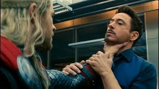 "Tony Stark ""We'll Lose"" Argument Scene - Avengers: Age of Ultron (2015) Movie CLIP HD"