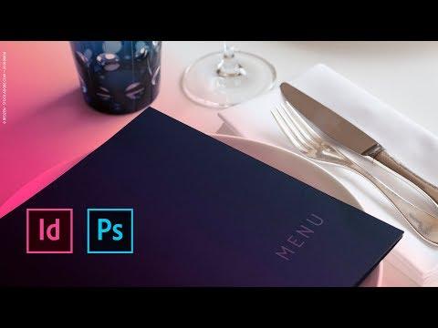 Réaliser Un Menu De Restaurant Dans InDesign | Adobe France