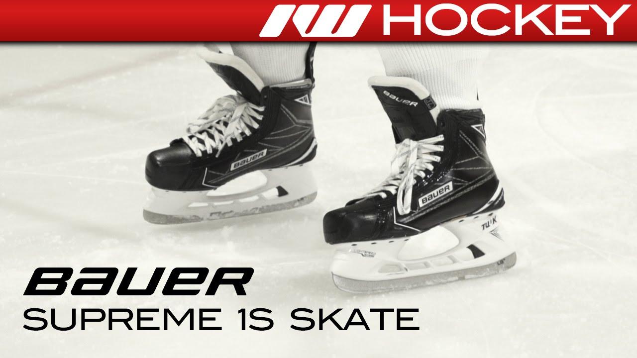 7de233eb1d3ce Bauer Supreme 1S Skate On-Ice Review