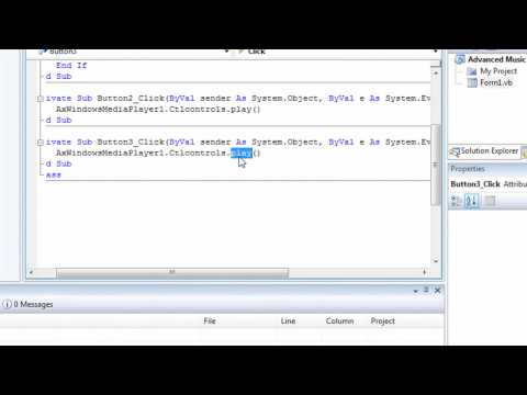 Visual Basic Advanced Music Player Tutorial HD