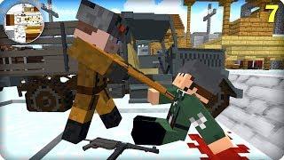Вторая Мировая Война [ЧАСТЬ 7] Call of duty в Майнкрафт! - (Minecraft - Сериал)