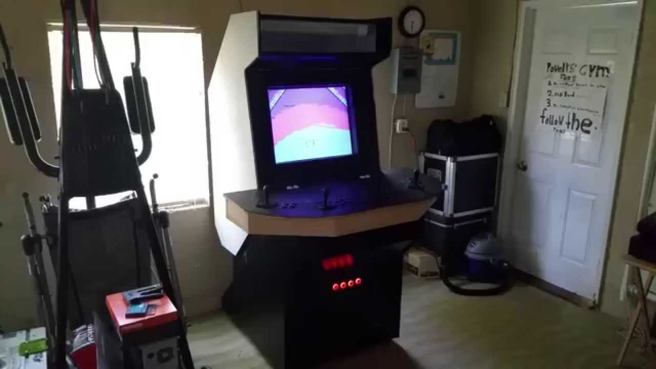 MAME 4 Player Ultimate Arcade Machine I-PAC - YouTube