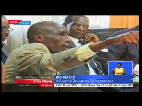 NOCK Chairman Kipchoge Keino faces the Parliamentary Labour Committee over the Rio Fiasco