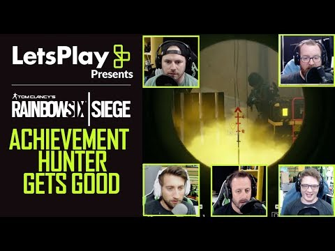 Rainbow Six Siege: Achievement Hunter Gets Good | Let's Play