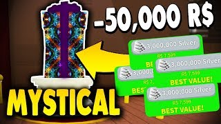 SPENDING MILLIONS FOR BEST MYSTICAL PETS AND LOST THEM.. | Snowman Simulator (ROBLOX)