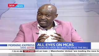 All eyes on MCAs: Counties will have 3 months to pass the BBI bill