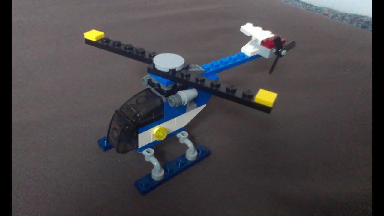 Lego Jak Zbudować 2 Mały Helikopter Youtube