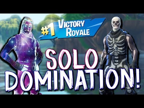 SOLO VICTORY ROYALE GAMEPLAY! Fortnite Battle Royale