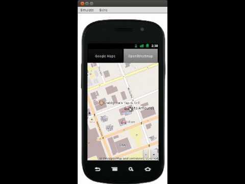 KMLPointsLayer - decorating a Codename One map using Keyhole Markup Language (KML)