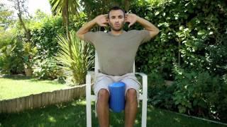 Auto ostéopathie par christophe carrio : douleurs cou/nuque et mal de dos