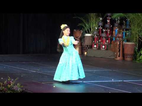2013 Queen Lili'uokalani Keiki Hula Competition - Miss Keiki Hula (Hana Hou Performance)