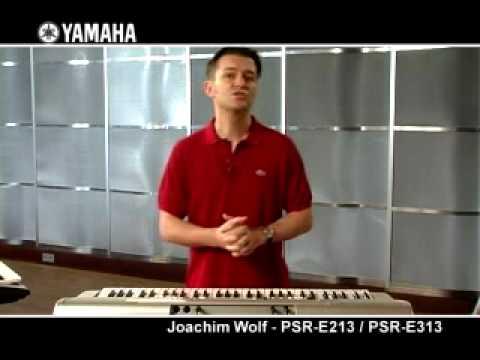 Joachim Wolf and the Yamaha PSR-E213 / PSR-E313