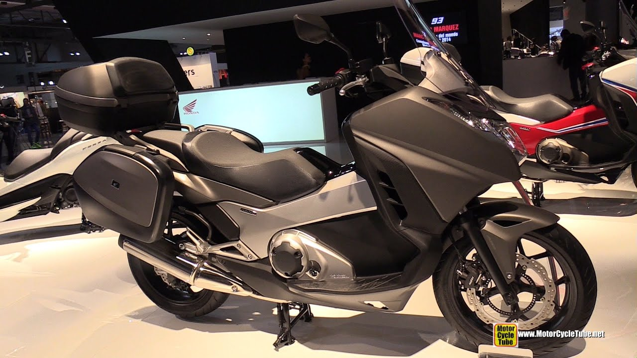2015 honda integra 750 dct maxi scooter walkaround 2014 eicma milan motorcycle exhibition. Black Bedroom Furniture Sets. Home Design Ideas