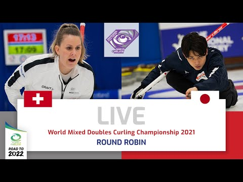 Switzerland v Japan - Round robin - World Mixed Doubles Curling Championship 2021