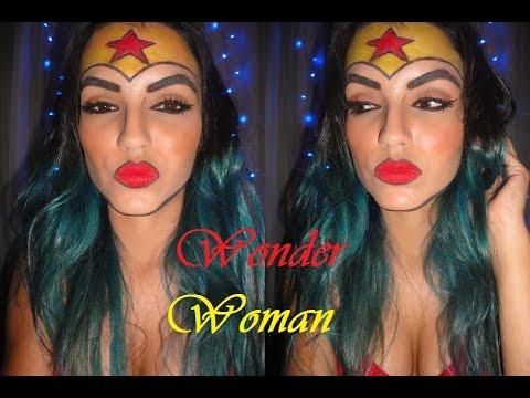 maquillaje wonder woman
