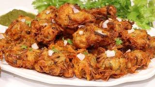 झटपट बनाये आलू प्याज के लच्छेदार कुरकुरे पकोड़े | Ramzan Special Pakode Recipe | Iftari Snacks.